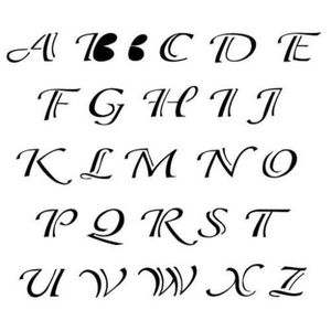 Estencil-para-Pintura-Simples-15x20-Alfabeto-Classico-OPA299---Opa