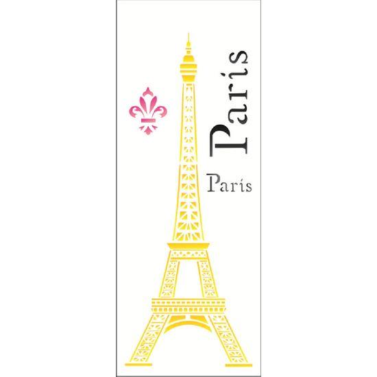 Estencil-Wall-para-Pintura-Simples-17x42-Torre-Eiffel-OPA1231---Opa-
