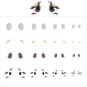 Estencil-para-Pintura-Simples-20x25-Olhinhos-III-OPA1165---Opa