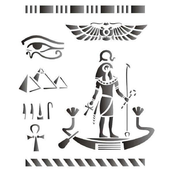 Estencil-para-Pintura-Simples-20x25-Paises-Egito-OPA1332---Opa