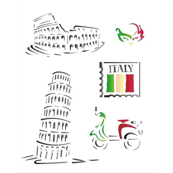 Estencil-para-Pintura-Simples-20x25-Paises-Italia-OPA1329---Opa-