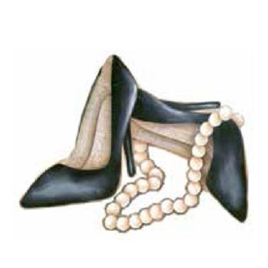 Aplique-Madeira-e-Papel-Sapato-LMAPC-185---Litocart