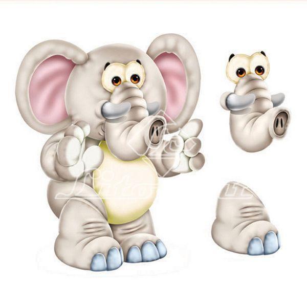 Aplique-Madeira-e-Papel-3D-Elefante-LDMPC-012---Litocart