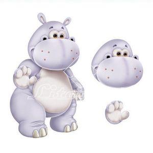 Aplique-Madeira-e-Papel-3D-Hipopotamo-LDMPC-008---Litocart