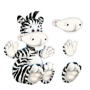 Aplique-Madeira-e-Papel-3D-Zebra-LDMPC-005---Litocart-