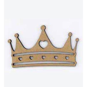 Aplique-Madeira-e-Papel-Coroa-LMAPC-192---Litocart
