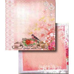 Papel-Scrapbook-Duplo-Flores-LSCD-272---Litocart