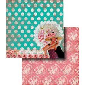 Papel-Scrapbook-Duplo-Flores-LSCD-277---Litocart
