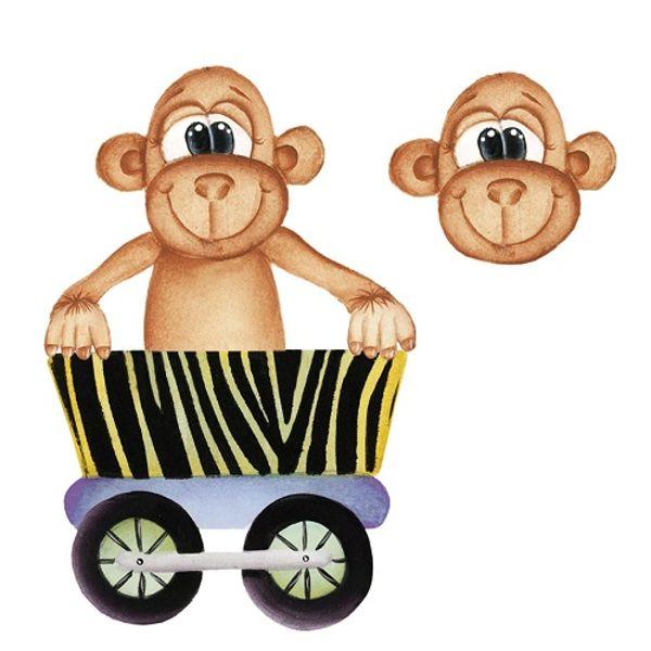 Aplique-Madeira-e-Papel-3D-Macaco-LDMPC-018---Litocart