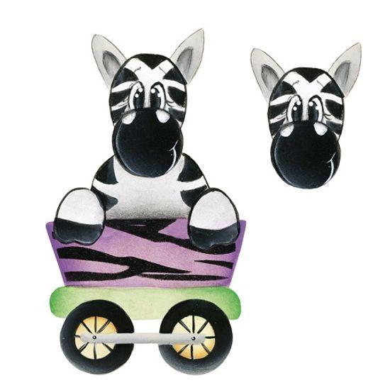 Aplique-Madeira-e-Papel-3D-Zebra-LDMPC-020---Litocart