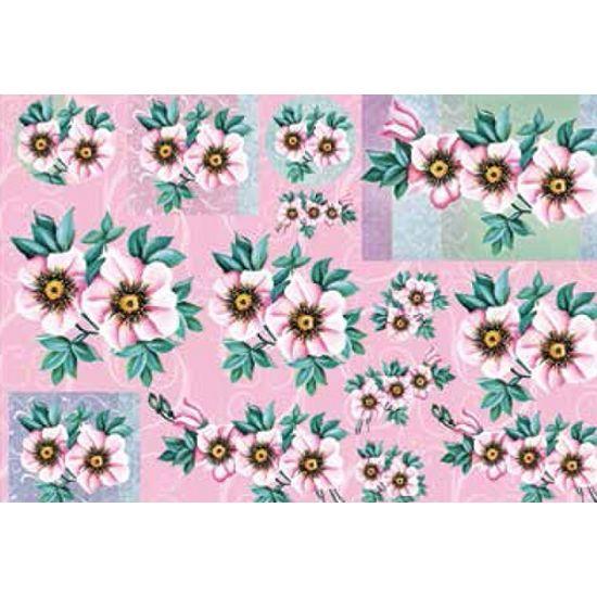 Papel-Decoupage-Grande-Flores-LD-782---Litocart