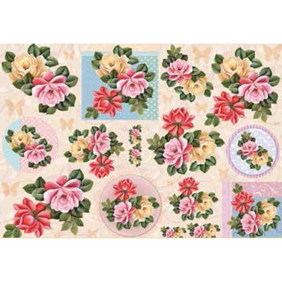 Papel-Decoupage-Grande-Flores-LD-781---Litocart