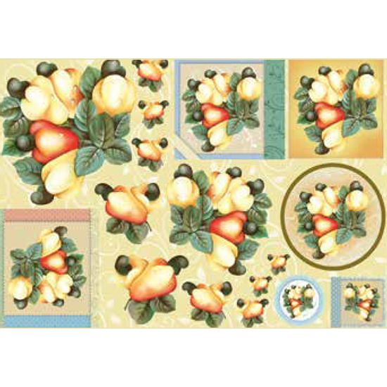 Papel-Decoupage-Grande-Frutas-Caju-LD-778---Litocart