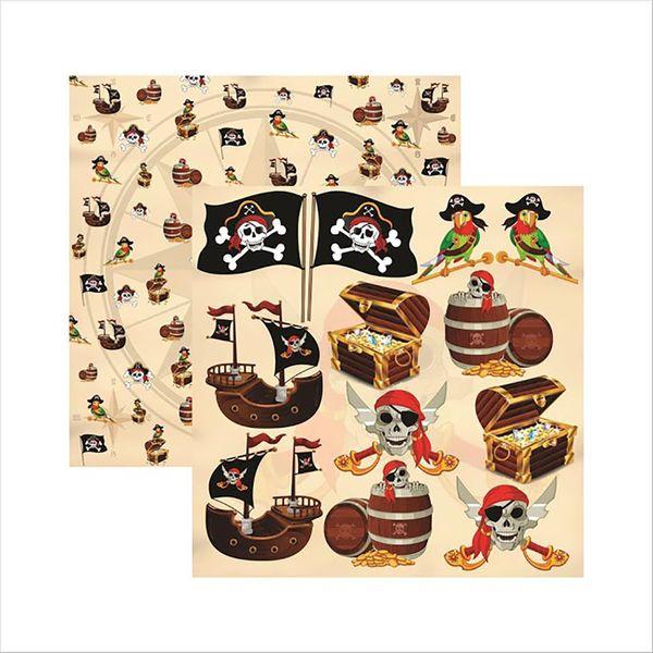 Papel-Scrapbook-Colecoes-Piratas-Recortes-SDF515---Toke-e-Crie-by-Ivana-Madi