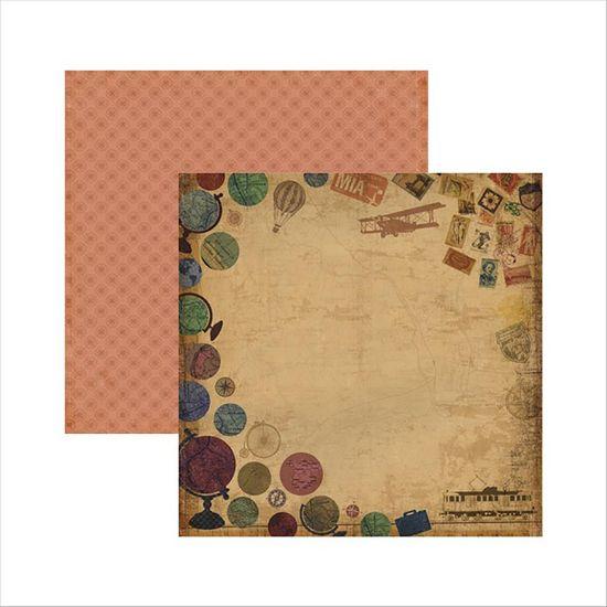 Papel-Scrapbook-Viagem-Retro-Globos-SDF490---Toke-e-Crie