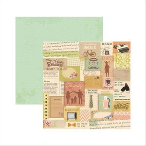 Papel-Scrapbook-Familia-Tradicional-Mensagens-SDF497---Toke-e-Crie
