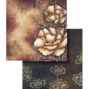 Papel-Scrapbook-Duplo-Flores-LSCD-265---Litocart