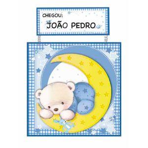 Placa-de-Porta-MDF-Decoupage-Ursinho-DM-028---Litoarte
