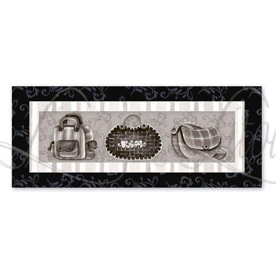 e2adba15246 Porta Chaves MDF Decoupage Bolsas DM-007 - Litoarte - PalacioDaArte