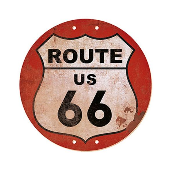 Placa-em-MDF-e-Papel-Decor-Home-Route-66-DHPM-006---Litoarte