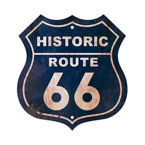 Placa-em-MDF-e-Papel-Decor-Home-Historic-Route-66-DHPM-022---Litoarte