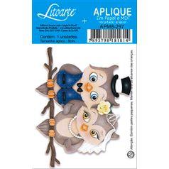 Decoupage-Aplique-em-Papel-e-MDF-Corujas-Noivos-APM8-297---Litoarte
