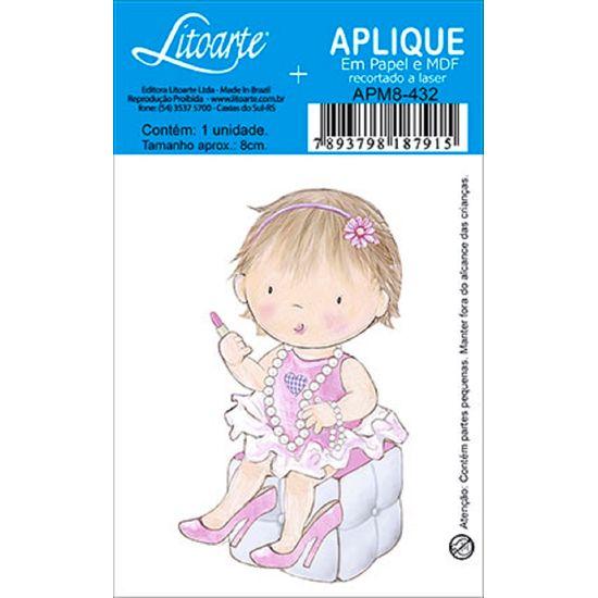 Decoupage-Aplique-em-Papel-e-MDF-Menina-APM8-432---Litoarte--16675-