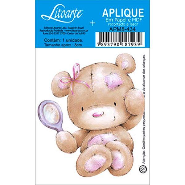 Decoupage-Aplique-em-Papel-e-MDF-Ursinho-APM8-434---Litoarte--16646-