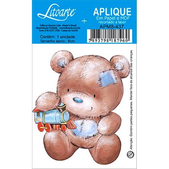 Decoupage-Aplique-em-Papel-e-MDF-Ursinho-APM8-437---Litoarte--16628-