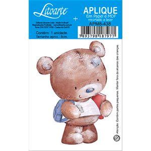 Decoupage-Aplique-em-Papel-e-MDF-Ursinho-APM8-438---Litoarte--16639-