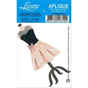 Decoupage-Aplique-em-Papel-e-MDF-Vestido-APM8-443---Litoarte--16631-