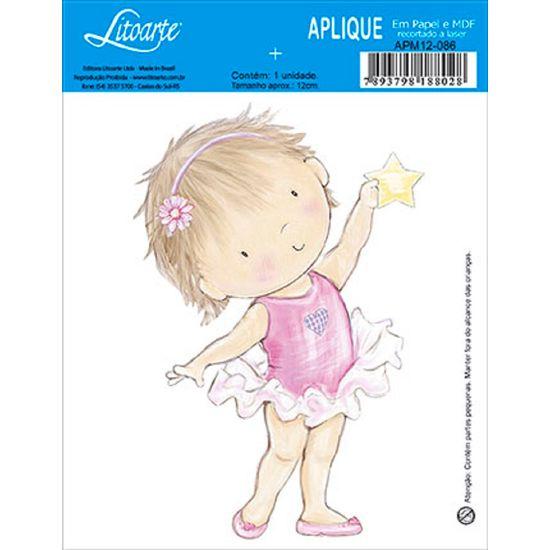 Decoupage-Aplique-em-Papel-e-MDF-Menina-Bailarina-APM12-086---Litoarte