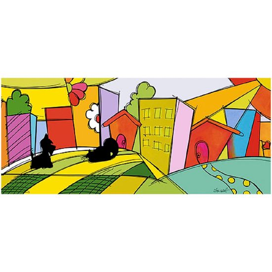 Placa-em-MDF-e-Papel-Decor-Home-Cidade-Gato-e-Cachorro-DHPM3-004---Litoarte--16961-