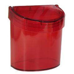 Lixeira-para-Pia-Retro-27Litros-Vermelha-Transparente-20932-0111---Coza