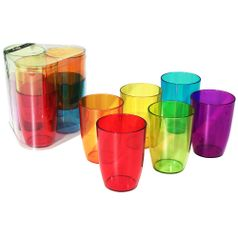 Conjunto-com-6-Copos-Coloridos-275ml-COT2-20202-7188---Coza