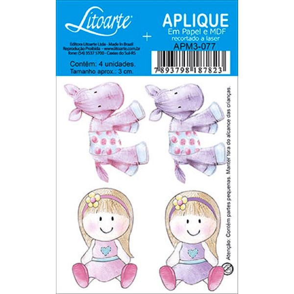 Decoupage-Aplique-em-Papel-e-MDF-Menina-e-Zebrinha-APM3-077---Litoarte