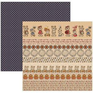 Papel-Scrapbook-DF-Colecoes-Meu-Amigo-Urso-Barrinhas-SDF527---Toke-e-Crie-by-Flavia-Terzi