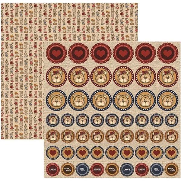 Papel-Scrapbook-DF-Colecoes-Meu-Amigo-Urso-Botons-SDF529---Toke-e-Crie-by-Flavia-Terzi