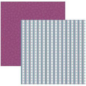 c74e6d3b5 Papel Scrapbook DF Coleções Diversão no Gelo Listras SDF533 - Toke e Crie  by Ivana Madi