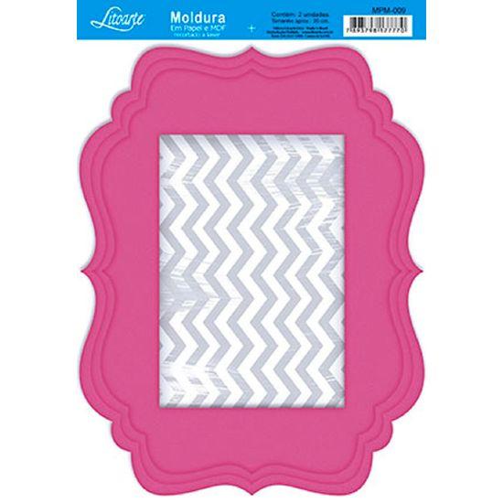 Molduras-em-Madeira-MDF-com-Papel-colado-Rosa-MPM-009---Litoarte