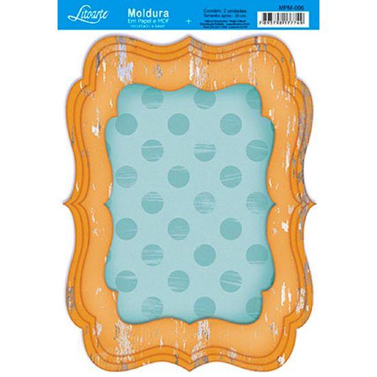 Molduras-em-Madeira-MDF-com-Papel-colado-Amarelo-MPM-006---Litoarte