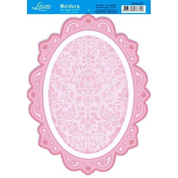 Molduras-em-Madeira-MDF-com-Papel-colado-Rosa-MPM-007---Litoarte