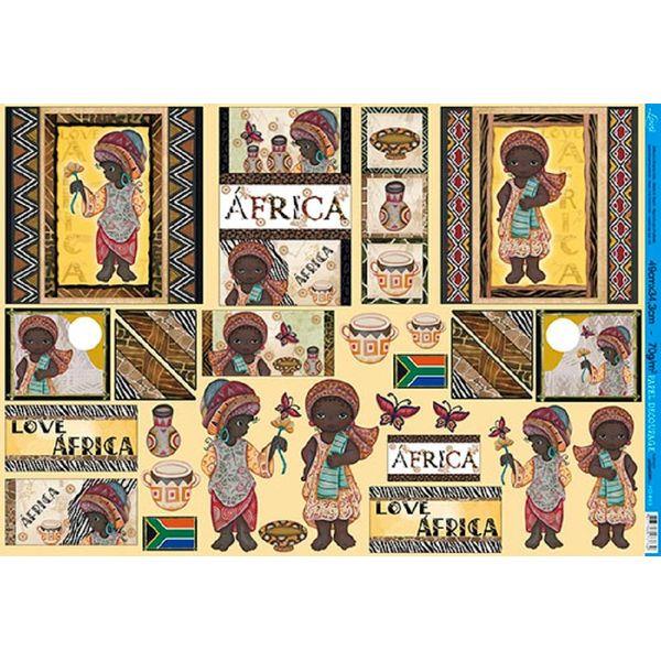 Papel-Decoupage-Grande-Africa-PD-863---Litoarte
