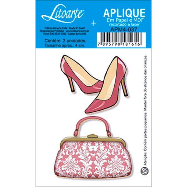 Decoupage-Aplique-em-Papel-e-MDF-Bolsa-e-Sapato-APM4-037---Litoarte