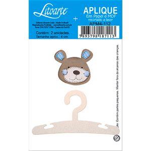 Decoupage-Aplique-em-Papel-e-MDF-Cabide-e-Ursinho-APM4-112---Litoarte