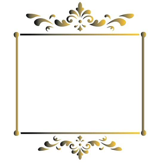 Estencil-Wall-para-Pintura-Simples-20X25-Moldura-Vintage-OPA-1448---Opa