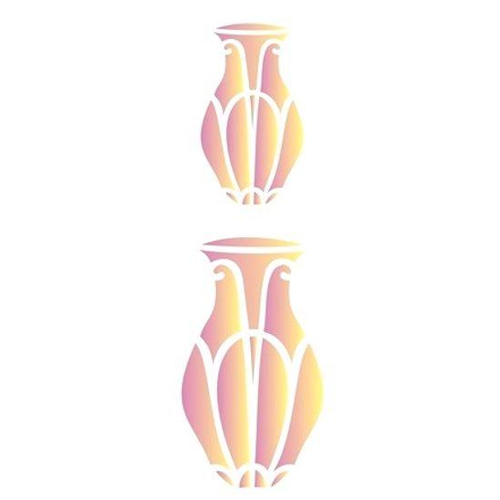 Estencil-para-Pintura-Simples-10x30-Vaso-Comprido-OPA1476---Opa