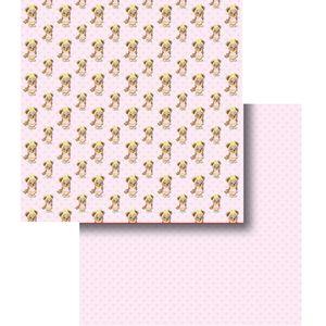 Papel-Scrapbook-Duplo-Ursinha-LSCD-298---Litocart