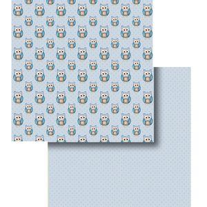 Papel-Scrapbook-Duplo-Coruja-LSCD-295---Litocart