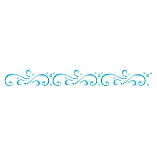 Estencil-para-Pintura-Simples-4x30-Arabesco-III---OPA1176---Opa